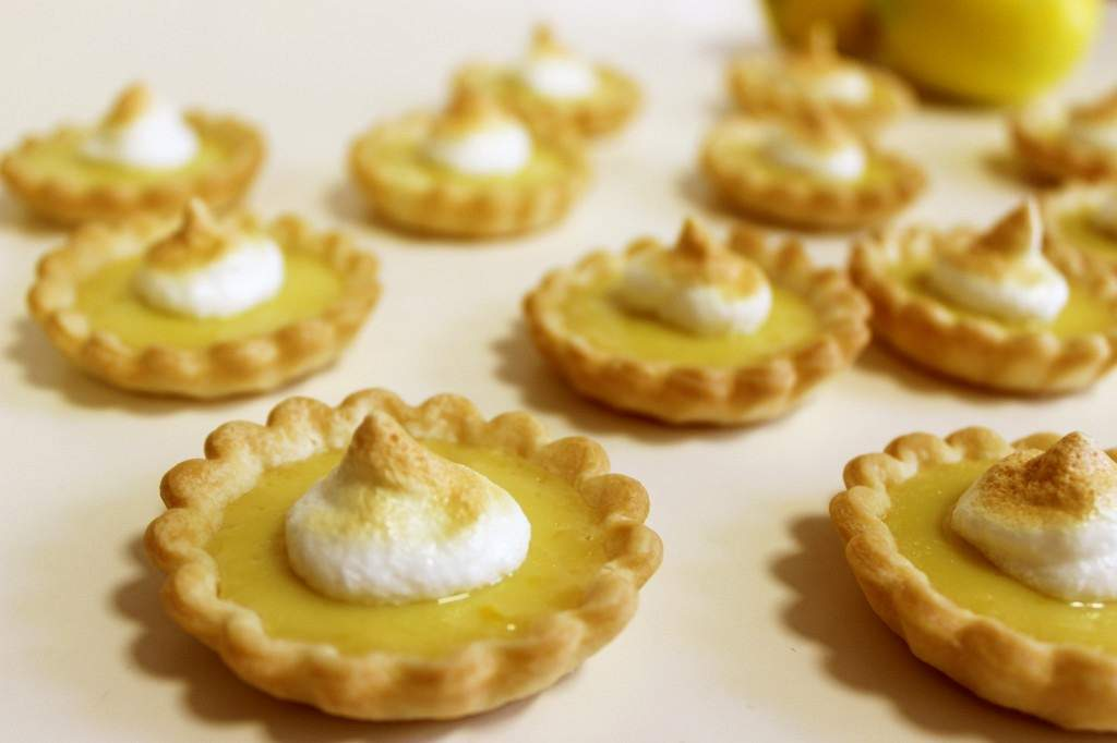 Mini Lemon Tarts -